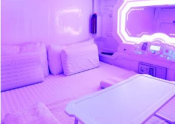 Capsule Room Double bed